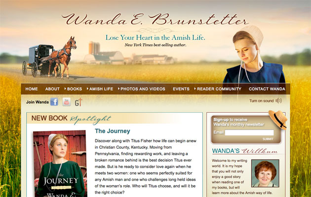 Wanda Brunstetter - Amish fiction author