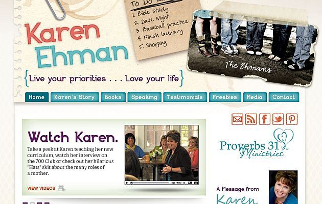 Karen Ehman - Christian Author and Speaker