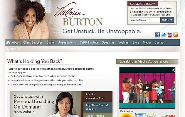 Valorie Burton - Motivational Speaker